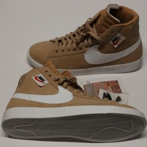 Nike Blazer MID Rebel Womens Shoe Bio Beige Summit